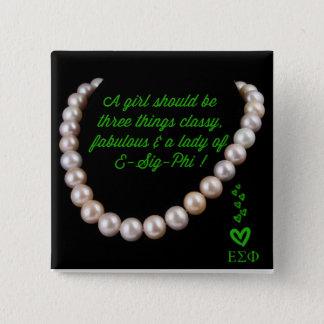 ΕΣΦ Sorority, Inc: Classy Classy Pin
