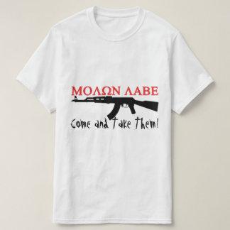 ΜΟΛΩΝ ΛΑΒΕ, Come and Take Them!, AK-47 Shirt