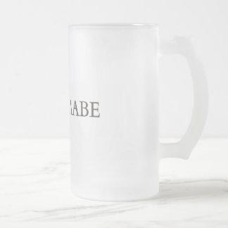 ΜΟΛΩΝ-ΛΑΒΕ FROSTED GLASS BEER MUG