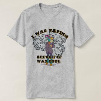 Ω VAPE Shirt | Vaping before it was Cool VapeGoat™
