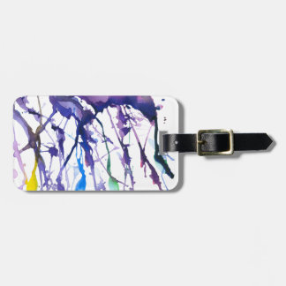 """Аlone in the woods"" Luggage Tag"