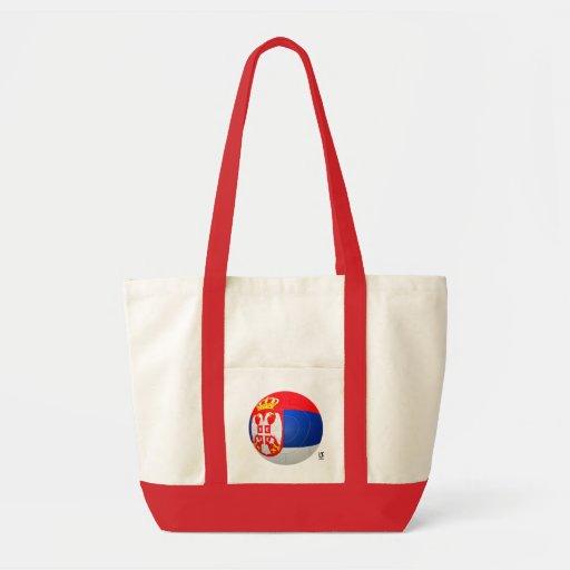 Бели Орлови - Serbia Србије Football Tote Bags
