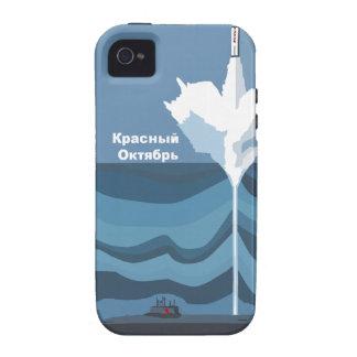 Красный Октябрь RED OCTOBER iPhone 4/4S Cases