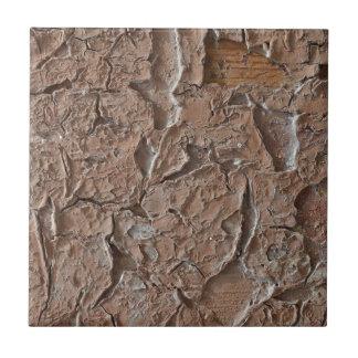 Оld shabby paint tile