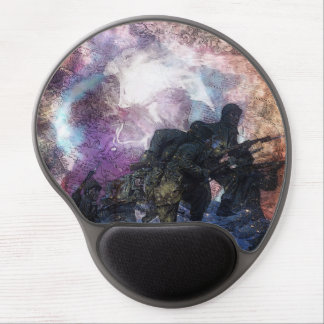 Рsусhеdеlіс Marching Abstract Soldier Gel Mouse Pad
