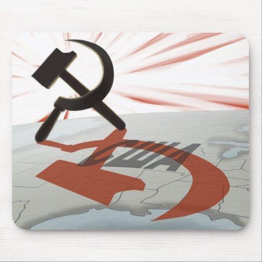 """""""США"""" Communist America Mousepads"""