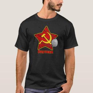 Спутник Sputnik poster art T-Shirt