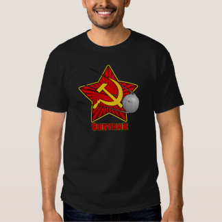 Спутник Sputnik poster art Tshirts