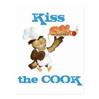 Сhef Owl cook Postcard
