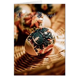Христос Воскрес! (Happy Easter!) Greeting Card