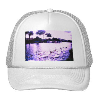 •·♥Яömǻñtî¢ SwanLake Trucker Hat♥·•