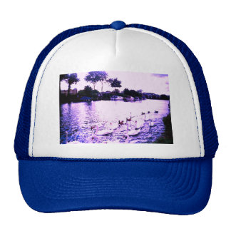•·♥Яömǻñtî¢ SwanLake Trucker Hat♥·• Cap