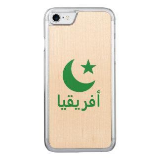 أفريقيا Africa in Arabic Carved iPhone 8/7 Case