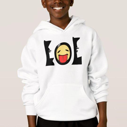 ★㋡ټ Emoticon(LOL)-Kids' Fun Hooded Sweatshirtټ ㋡★