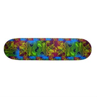 ஐ♥ټHow to tame a Dragon-Epic Dragon Skateboard♥ټஐ 21.6 Cm Skateboard Deck