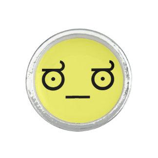 ಠ_ಠ Look of Disapproval ASCCI Emoticon Text Art Fa Photo Rings