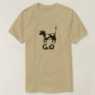 ᏩᎧ - cow/cattle  in Cherokee grey T-Shirt