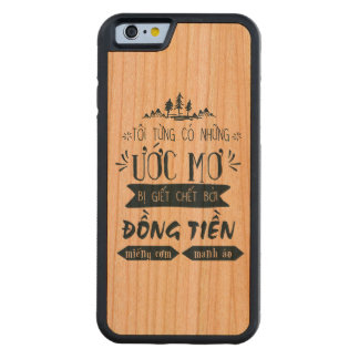 Ốp lưng Việt Nam Carved Cherry iPhone 6 Bumper Case