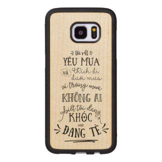 Ốp lưng Việt Nam Wood Samsung Galaxy S7 Edge Case