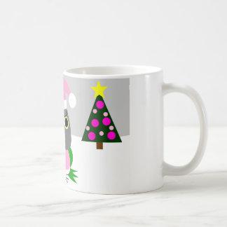 オウム パロットSenegal parrot as Santa for Christmas Coffee Mug
