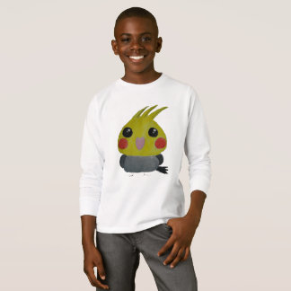 オカメインコ オウム Belle, the cockatiel, Original Design T-Shirt
