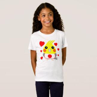 オカメインコ オウムCockatiel with love for Japan T-Shirt