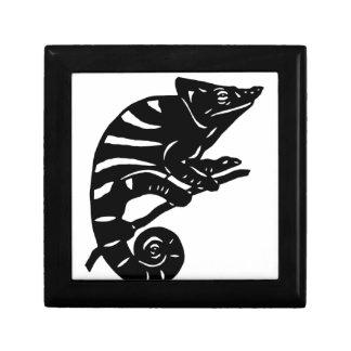 カメレオン 切り絵 chameleon アニマル ANIMAL ギフトボックス