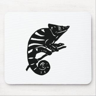 カメレオン 切り絵 chameleon アニマル ANIMAL マウスパッド
