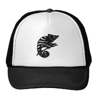 カメレオン 切り絵 chameleon アニマル ANIMAL メッシュ帽子