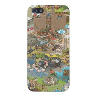 シマダ タカヒコ Everyone is Sleeping iPhone 5/5S Cases
