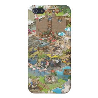 シマダ タカヒコ Everyone is Sleeping iPhone 5 Covers
