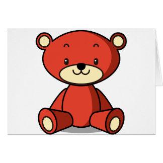 テディベア(赤) CARDS