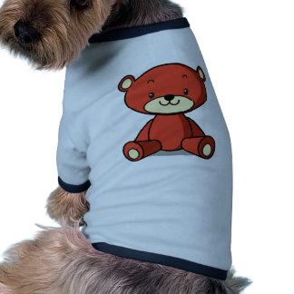 テディベア(赤) PET CLOTHES