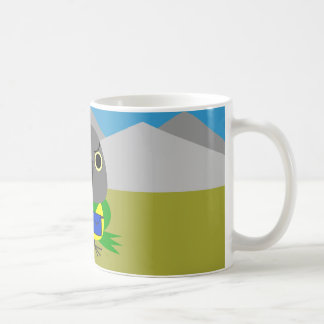 ネズミガシラハネナガインコ  オウム Senegal parrot ready to hike Coffee Mug