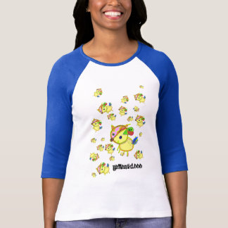 バンビネッシーのラグラン T-Shirt