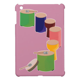パーカッションが好きな人のためのイラスト CASE FOR THE iPad MINI