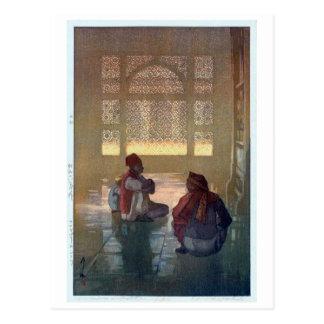 ファテープル・シークリー, Fatehpur Sikri, Hiroshi Yoshida Postcard