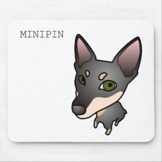 ミニチュアピンシャーマウスパッド マウスパッド
