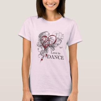 ラヴ トウ ダンス T-Shirt