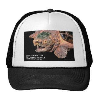 ワニガメ 優良アパレル トラッカー帽子
