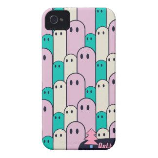 不思議な生物モノグラムDelta01typeC かわいいiPhoneケース iPhone 4 Case-Mate Cases