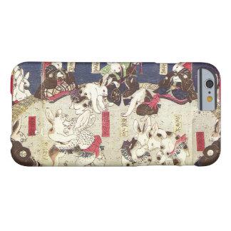 兎の相撲, 芳藤 Sumo Rabbits, Yoshifuji, Ukiyo-e Barely There iPhone 6 Case