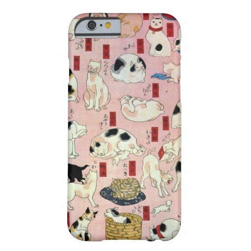 其のまま地口猫飼好五十三疋(中), 国芳 Cats(2), Kuniyoshi, Ukiyo-e iPhone 6 Case
