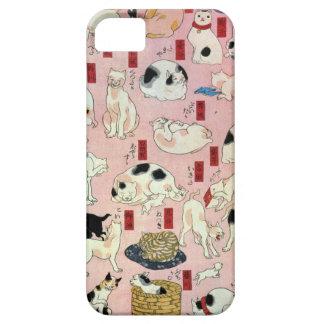 其 まま地口猫飼好五十三疋(中) 国芳 Cats 2 Kuniyoshi Ukiyo-e iPhone 5 Cases