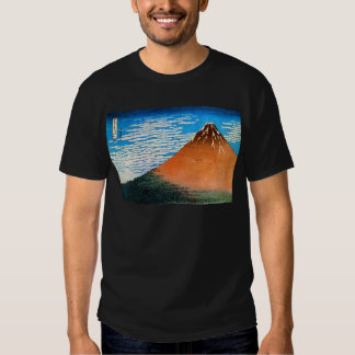 凱風快晴(赤富士), 北斎 Red Mount Fuji, Hokusai, Ukiyo-e Tshirts
