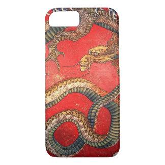 北斎の龍, 北斎 Hokusai Dragon, Hokusai, Japan Art iPhone 8/7 Case