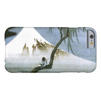 北斎 Boy & Mt Fuji Fine Art Barely There iPhone 6 Case