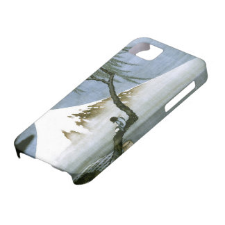 北斎 Boy & Mt Fuji Fine Art iPhone 5 Cases