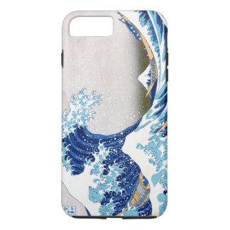 北斎 Great Wave Off Kanagawa Hokusai Fine Art iPhone 7 Plus Case