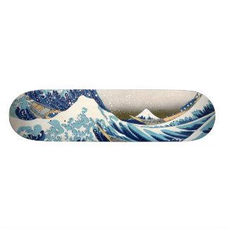 北斎 Great Wave Off Kanagawa Hokusai Fine Art Skateboard Decks